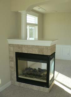 Fireplaces » Blog Archive » 3 Sided Gas Fireplaces